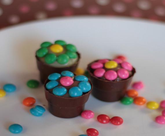 Vasinho de chocolate